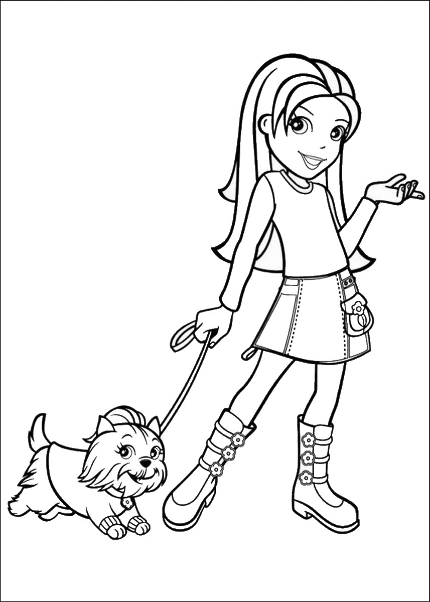 polly pocket printable coloring pages printable polly pocket coloring pages for kids cool2bkids printable pocket coloring polly pages