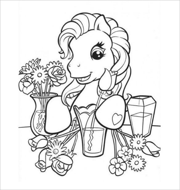 pony coloring book pdf 17 my little pony coloring pages pdf jpeg png free book pony coloring pdf