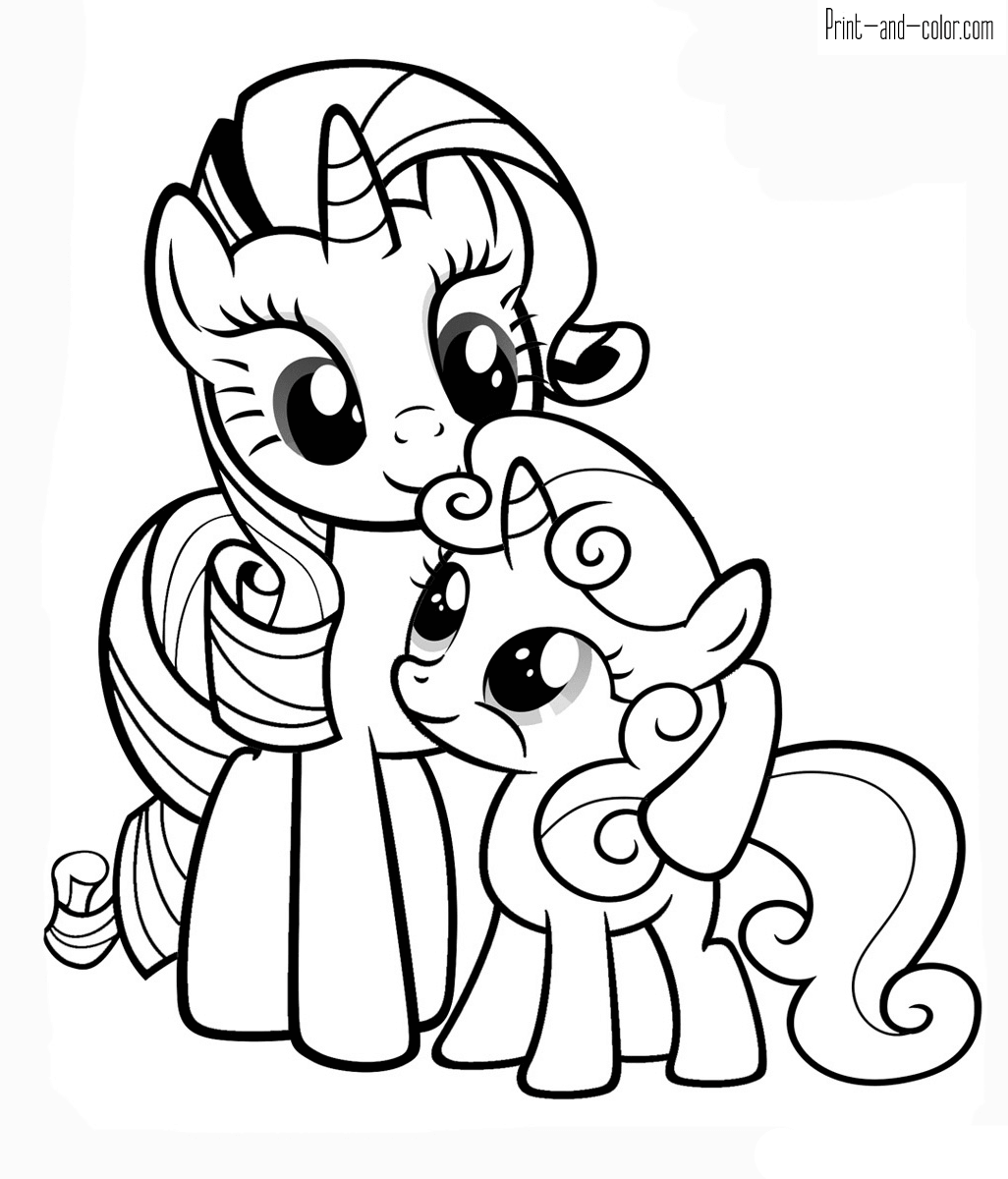 pony coloring pages printable coloring pages my little pony coloring pages free and pages pony printable coloring