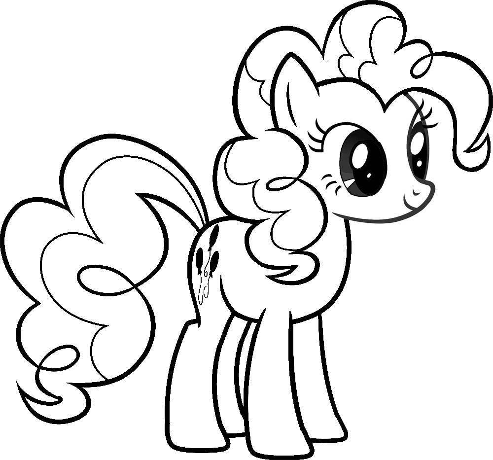 pony colouring pictures my little pony coloring pages for kids printable free pictures colouring pony