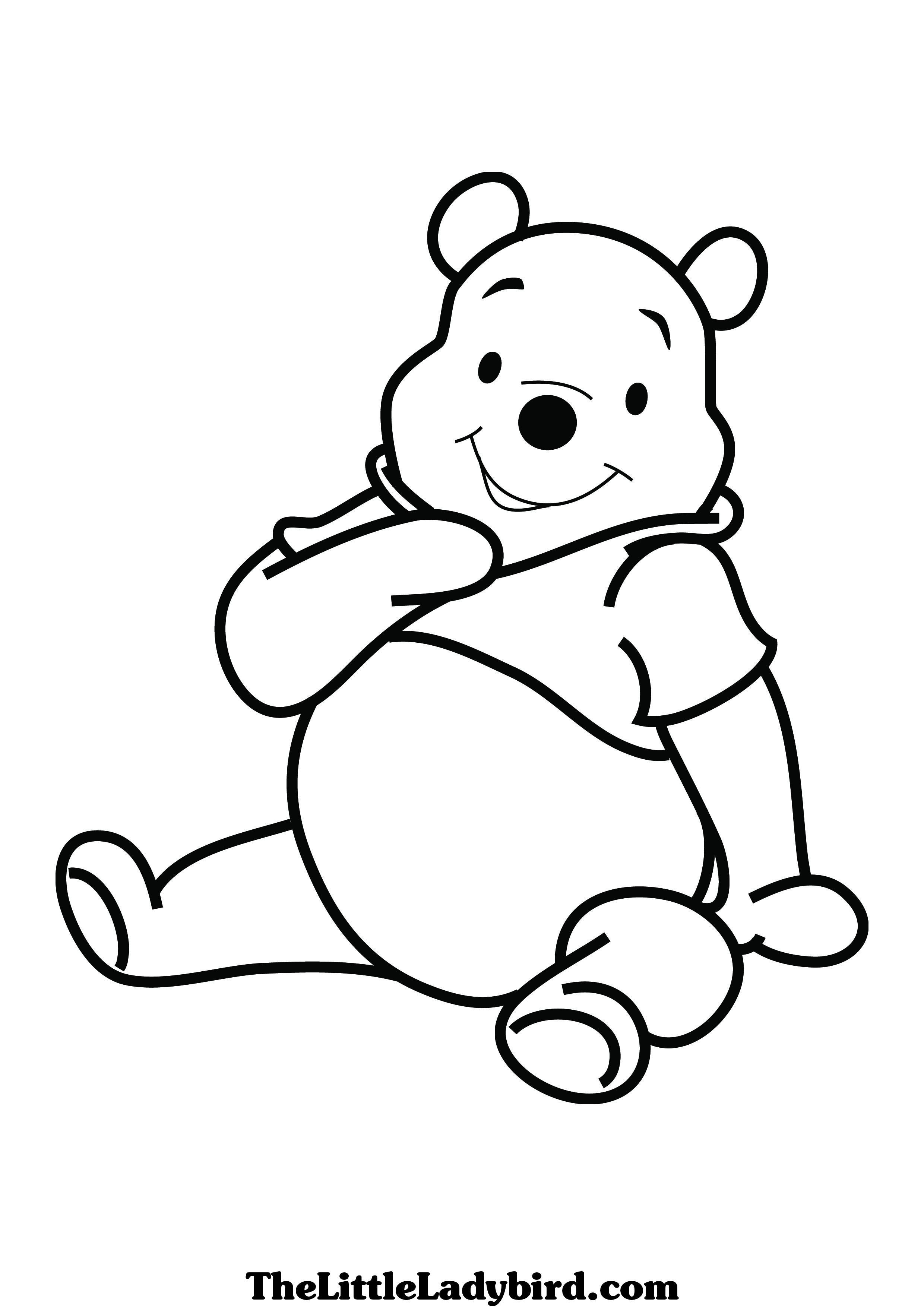 pooh bear coloring pictures pooh bear pictures free free download on clipartmag bear pooh pictures coloring