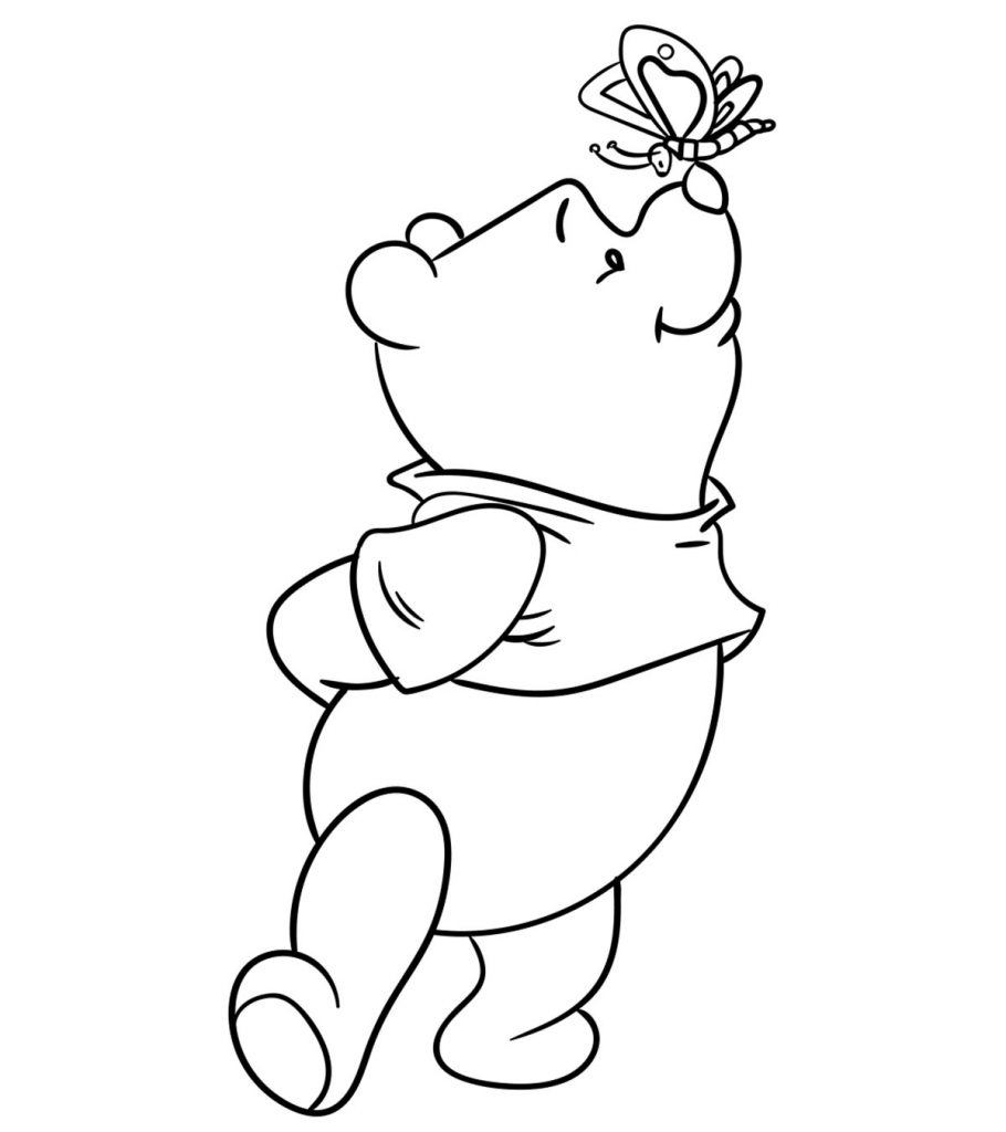 pooh bear coloring pictures top 30 free printable cute winnie the pooh coloring pages bear coloring pooh pictures