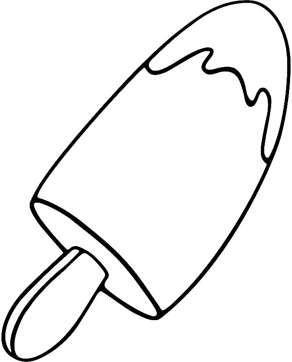popsicle coloring page popsicle clipart black and white free download on clipartmag coloring page popsicle