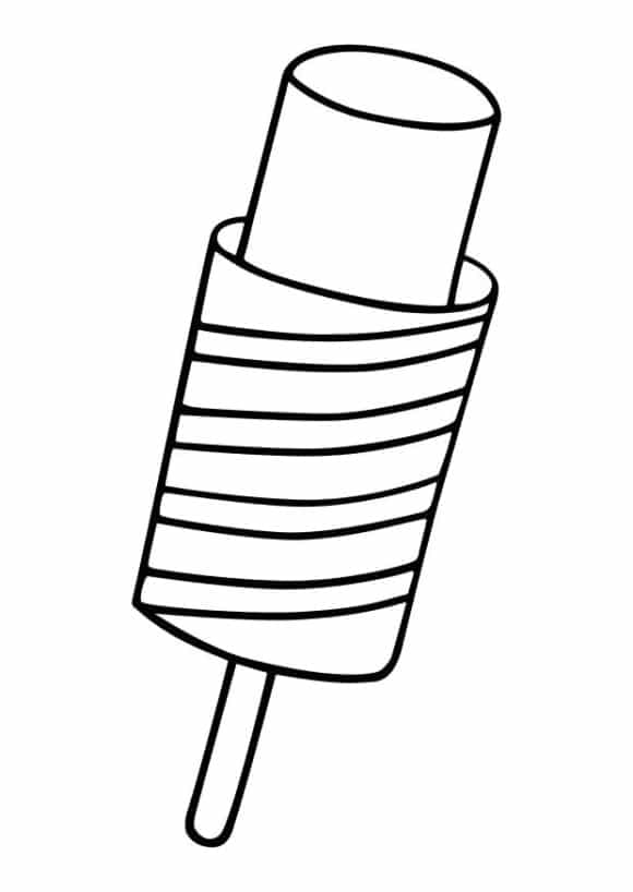 popsicle coloring page popsicle coloring pages coloring pages to download and print popsicle coloring page