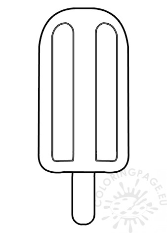 popsicle coloring page popsicle with wooden stick template coloring page coloring popsicle page