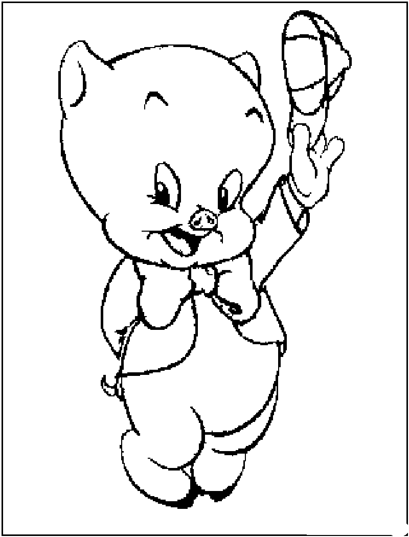 porky pig coloring pages coloring page pig coloring home porky pages pig coloring