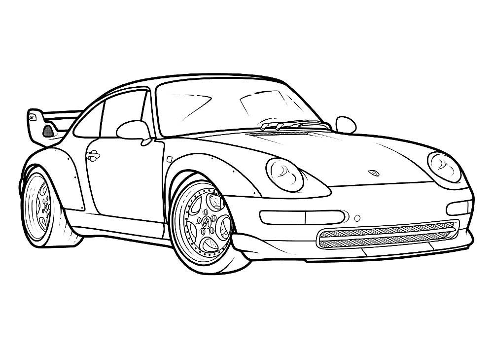 porsche colouring pages porsche coloring pages to download and print for free porsche colouring pages