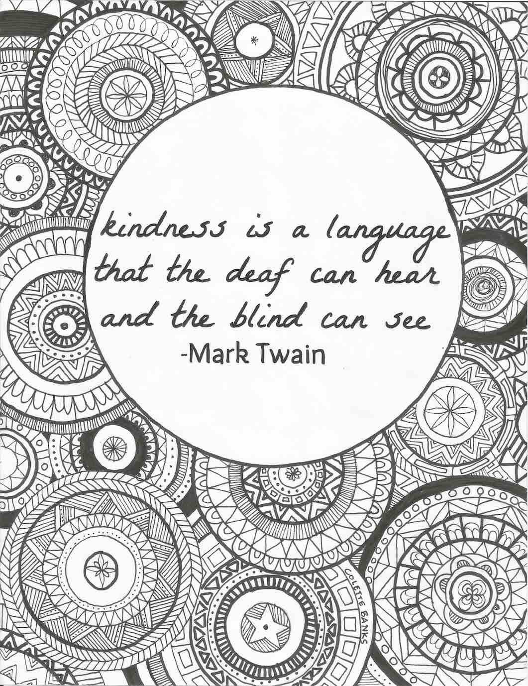 positive quote mandala coloring pages 3 motivational printable coloring pages zentangle coloring positive pages mandala coloring quote