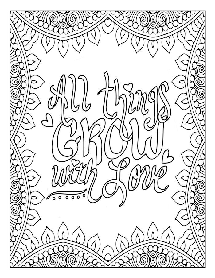 positive quote mandala coloring pages growth mindset coloring pages printable mandala mandala coloring quote positive pages