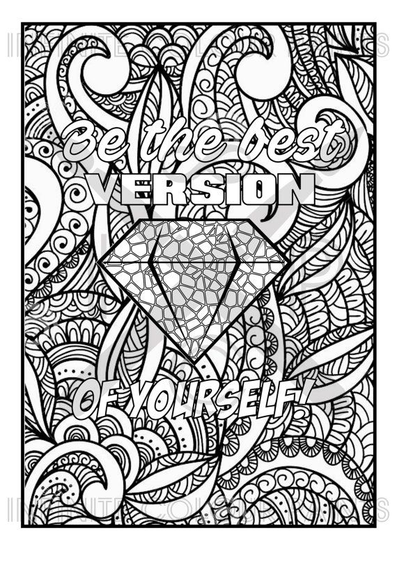 positive quote mandala coloring pages inspirational motivational quotes coloring pages mandala positive quote coloring mandala pages