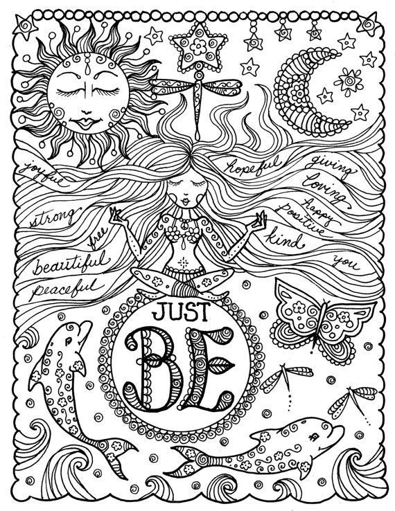 positive quote mandala coloring pages page scanned from the quotcreative coloring mandala pages mandala quote positive coloring