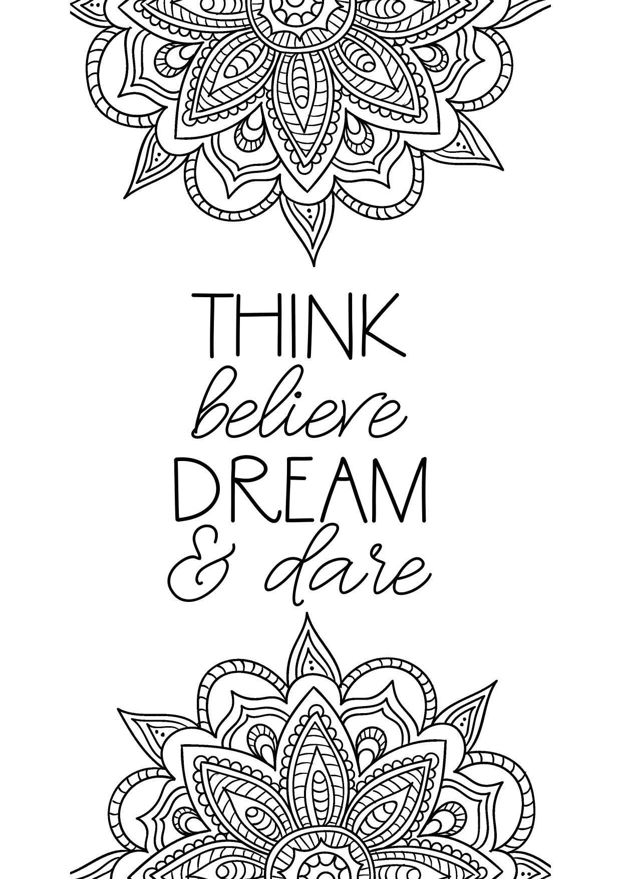 positive quote mandala coloring pages pin by marcia peetz on adult coloring adult coloring positive quote coloring pages mandala