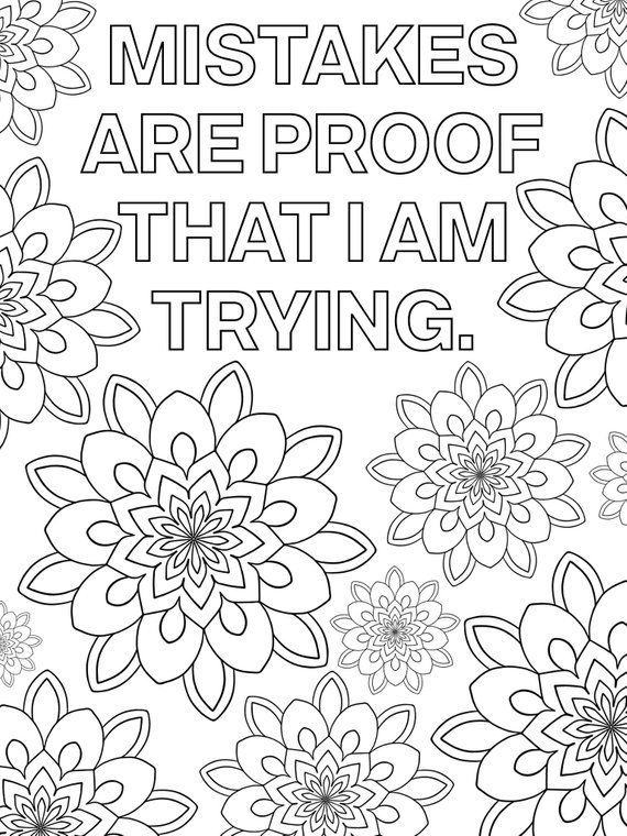 positive quote mandala coloring pages related image coloring pages inspirational cute positive quote pages coloring mandala