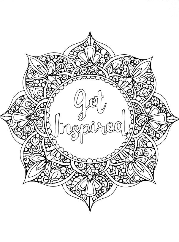 positive quote mandala coloring pages the modern rules of inspirational word coloring pages quote positive pages coloring mandala