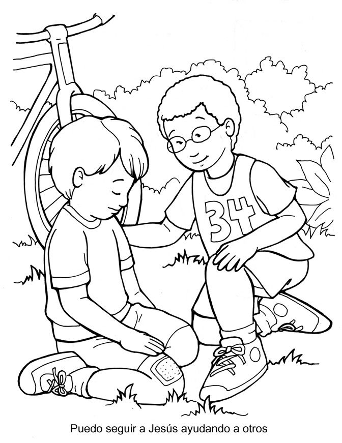 preschool jesus coloring pages i can follow jesus by helping others coloring page preschool jesus pages coloring