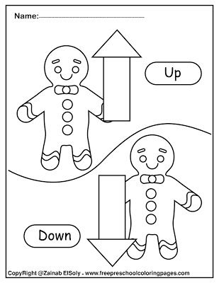 preschool opposites coloring pages opposites craft we made a sign out of this by folding it coloring preschool pages opposites