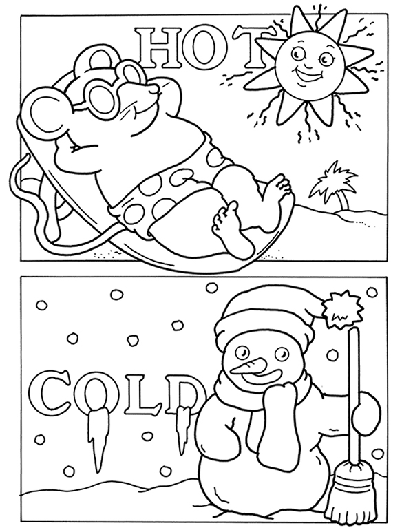 preschool opposites coloring pages opposites in and out coloring page twisty noodle preschool coloring pages opposites