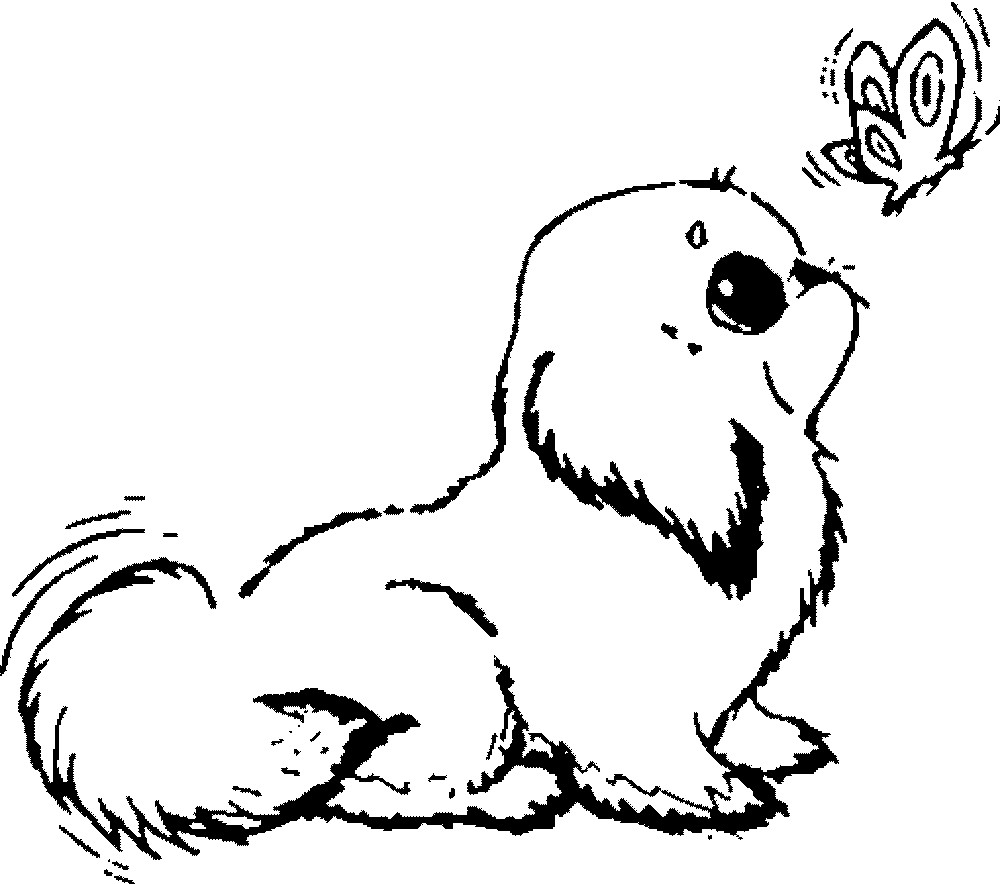 print a dog realistic dogs drawing at getdrawings free download a print dog