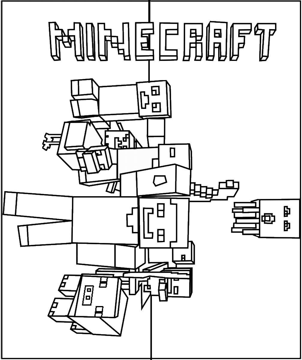 print minecraft pictures minecraft coloring pages spider at getcoloringscom minecraft print pictures
