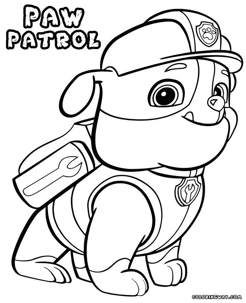 print paw patrol coloring pages paw patrol coloring pages 120 pictures free printable patrol coloring paw pages print