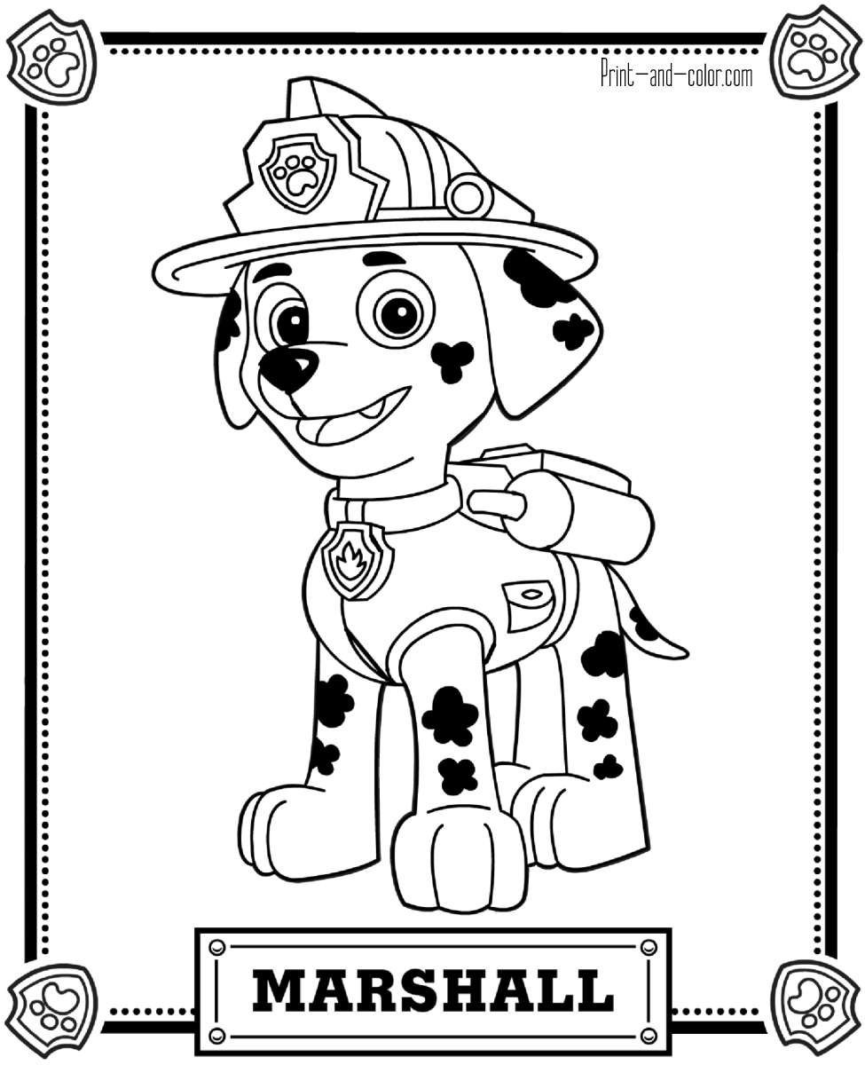 print paw patrol coloring pages paw patrol coloring pages 16 print color craft coloring pages print patrol paw