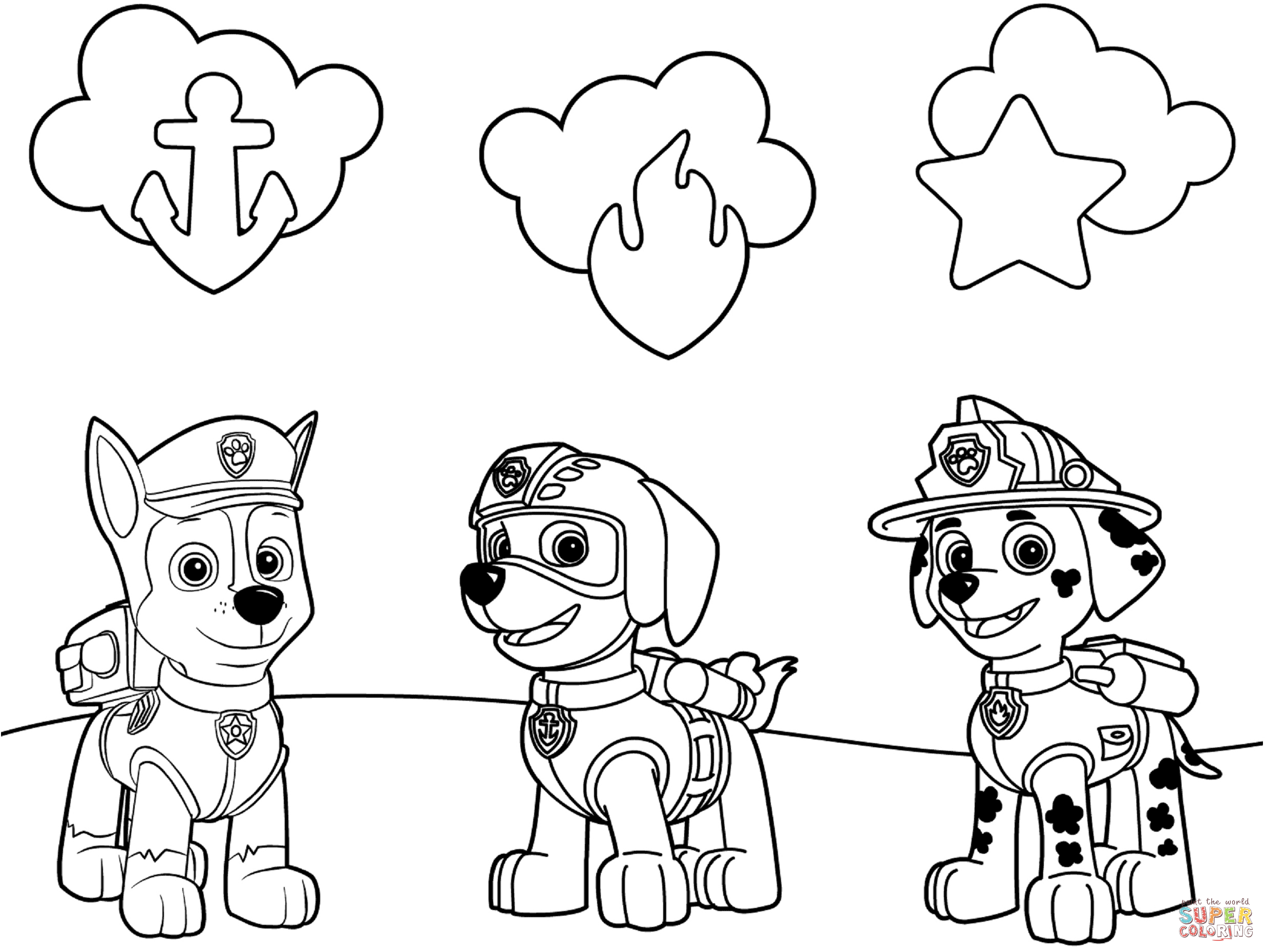 print paw patrol coloring pages paw patrol coloring pages print and colorcom print pages coloring patrol paw