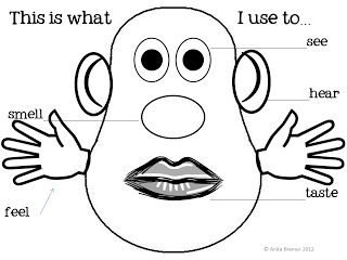 printable 5 senses coloring pages 10 best images of face parts worksheet for kindergarten printable pages 5 senses coloring