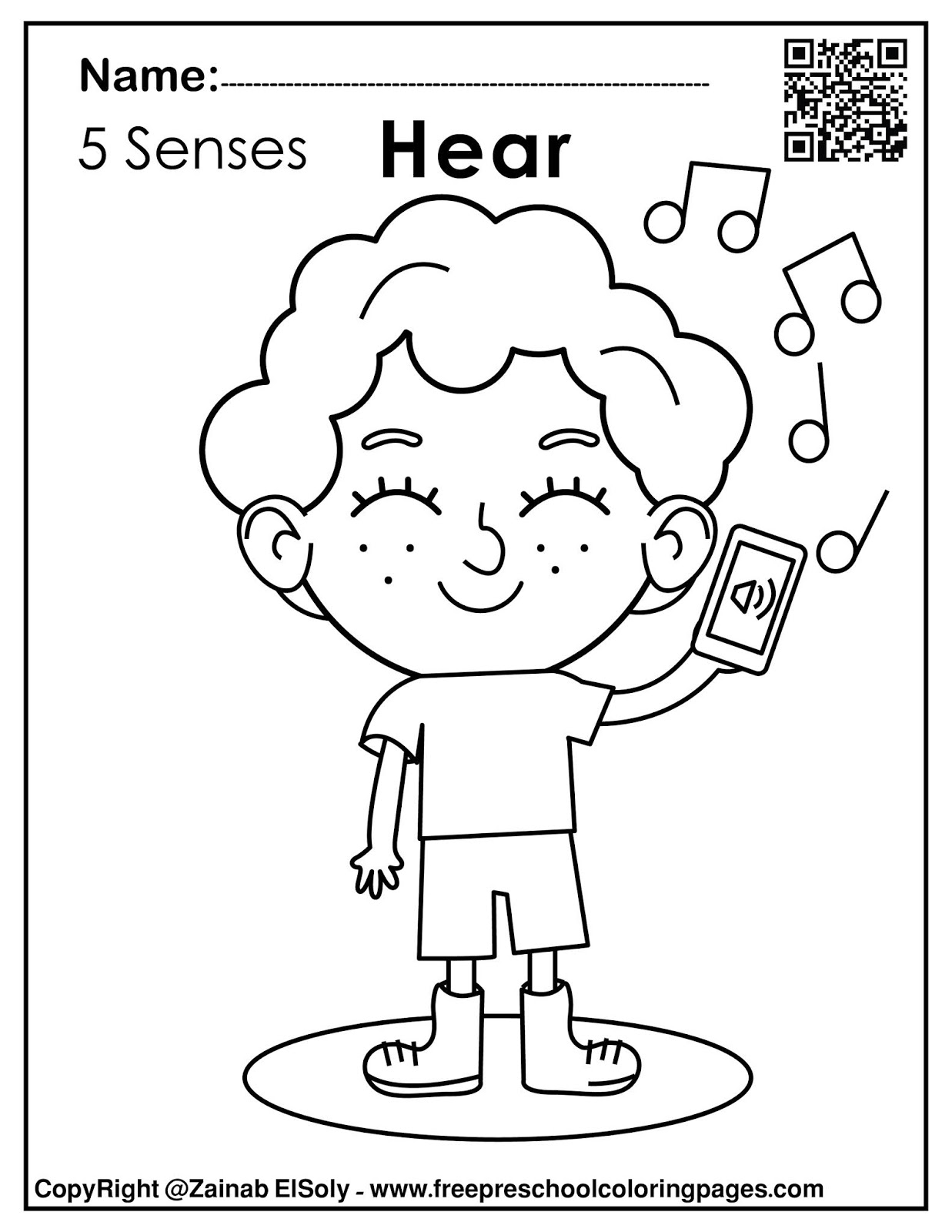 printable 5 senses coloring pages 8 best images of funny faces worksheets how are you coloring 5 senses pages printable