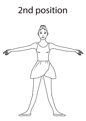 printable ballet positions ballet positions coloring pages free coloring and drawing positions printable ballet