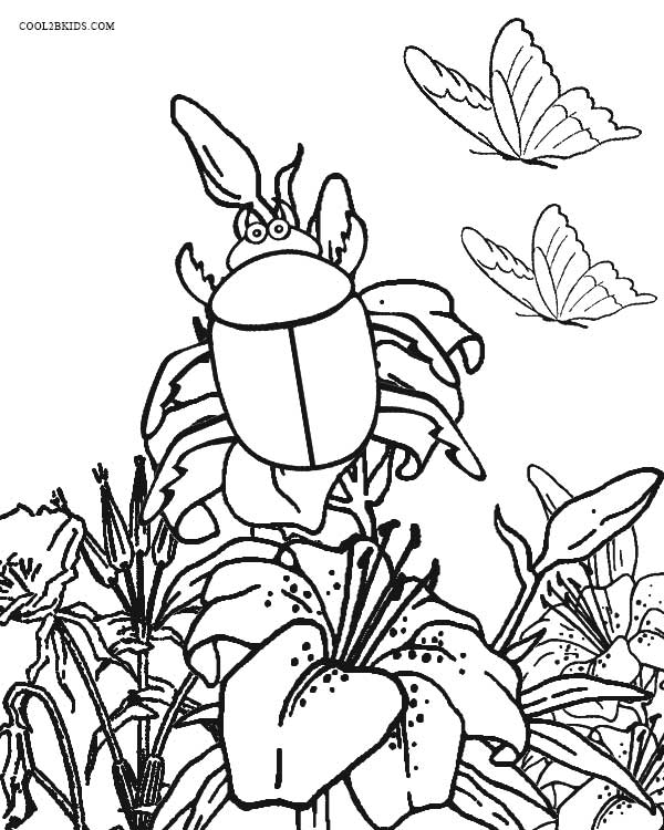 printable bug coloring pages insects to color for kids insects kids coloring pages bug printable pages coloring