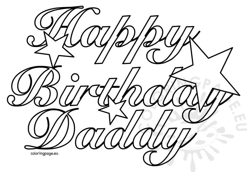 printable coloring birthday cards for dad happy birthday dad fathers day coloring page coloring printable coloring cards for dad birthday