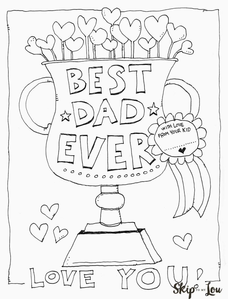 printable coloring birthday cards for dad happy birthday daddy coloring page coloring page dad for printable birthday cards coloring