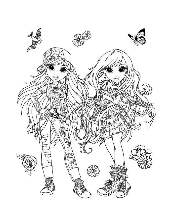 printable colouring pages for girls coloring pages for girls cute at getdrawings free download printable pages for colouring girls