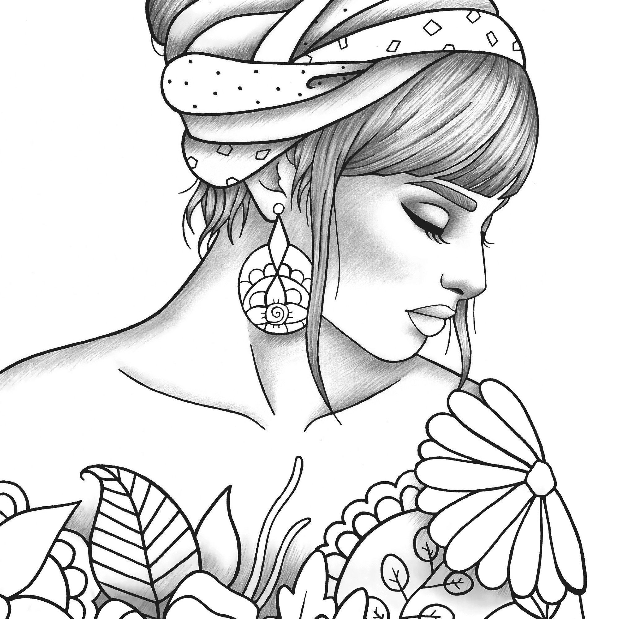 printable colouring pages for girls manga coloring pages to download and print for free printable colouring pages for girls