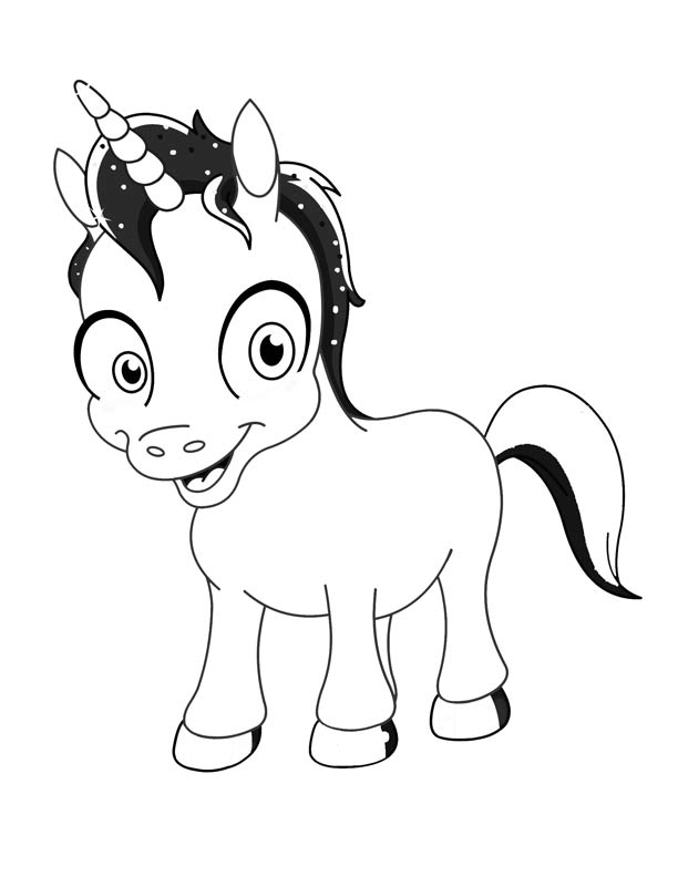 printable cute unicorn coloring pages baby unicorn coloring pages at getcoloringscom free coloring cute printable pages unicorn