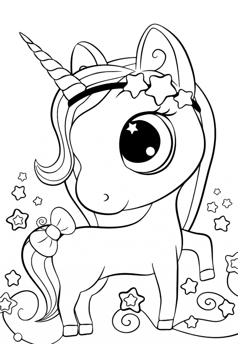printable cute unicorn coloring pages cute unicorn coloring pages for kids in 2020 unicorn pages unicorn coloring cute printable