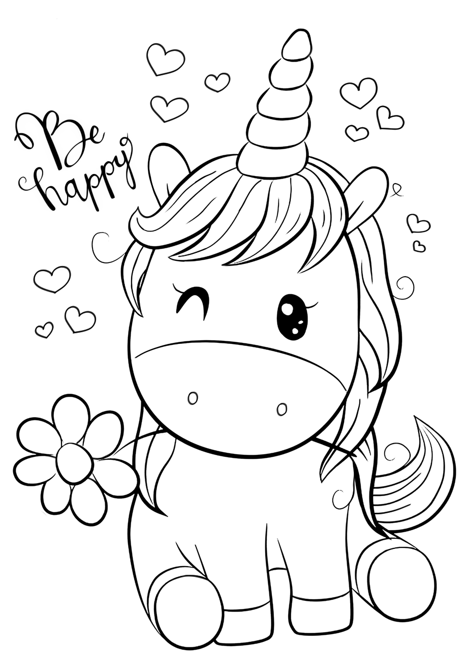 printable cute unicorn coloring pages cute unicorn coloring pages for you printable pages cute coloring unicorn