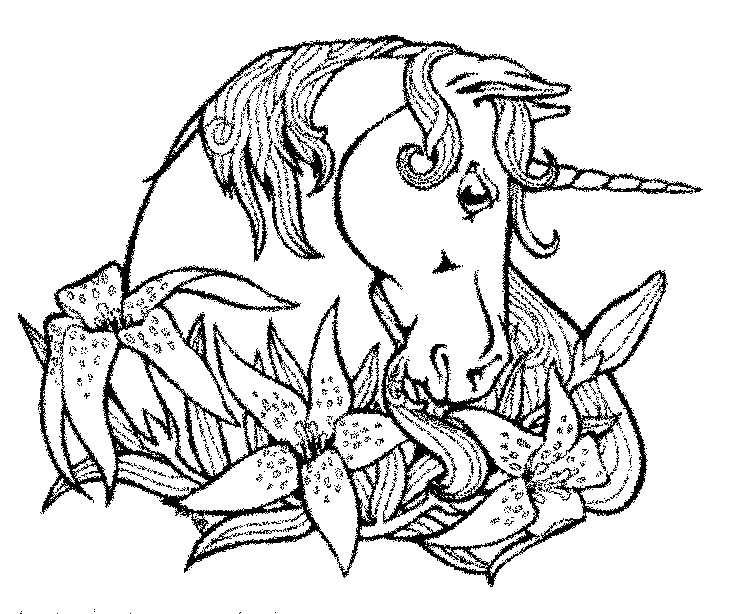 printable cute unicorn coloring pages detailed unicorn coloring pages at getcoloringscom free pages unicorn printable cute coloring