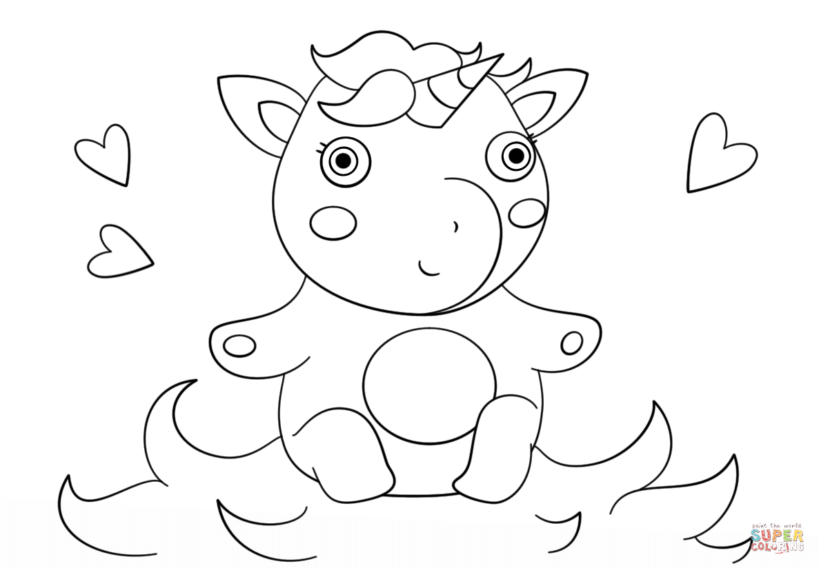 printable cute unicorn coloring pages superb coloring cute cartoon unicorn coloring pages pages unicorn printable coloring cute
