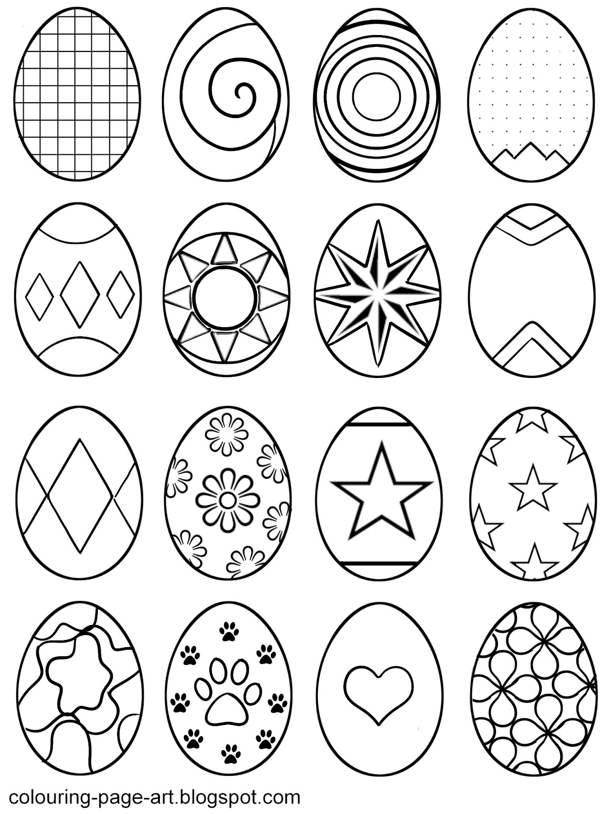 printable easter egg coloring pages easter egg printable colouring pages hubpages easter coloring pages printable egg