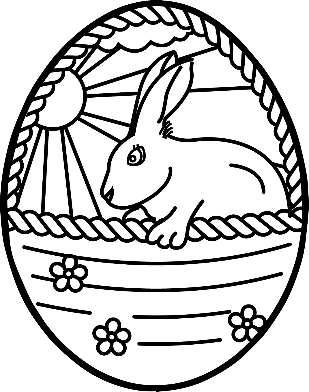 printable easter egg coloring pages ready for an easter egg art hunt download these printable easter printable pages egg coloring