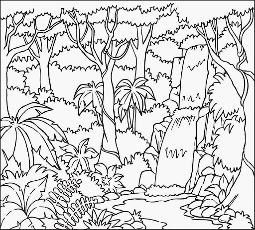 printable forest pictures forest coloring pages download and print forest coloring printable forest pictures