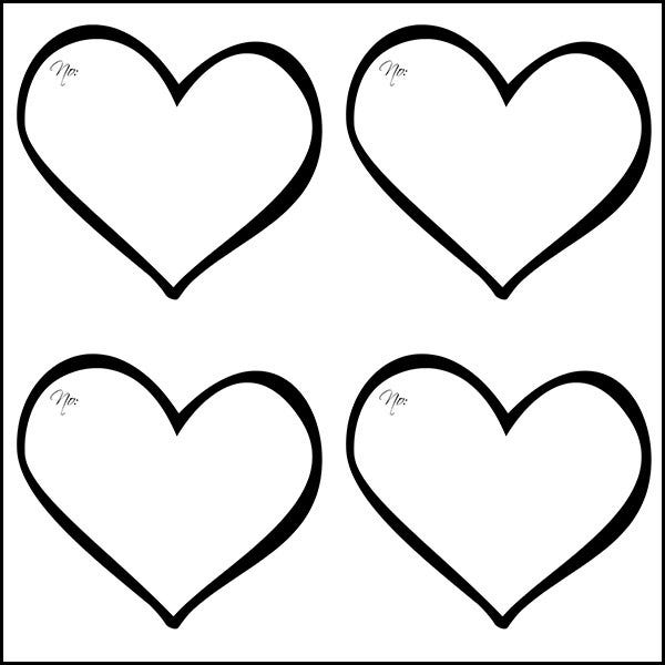 printable heart pictures 14 free heart outline templates printable cut outs pictures heart printable