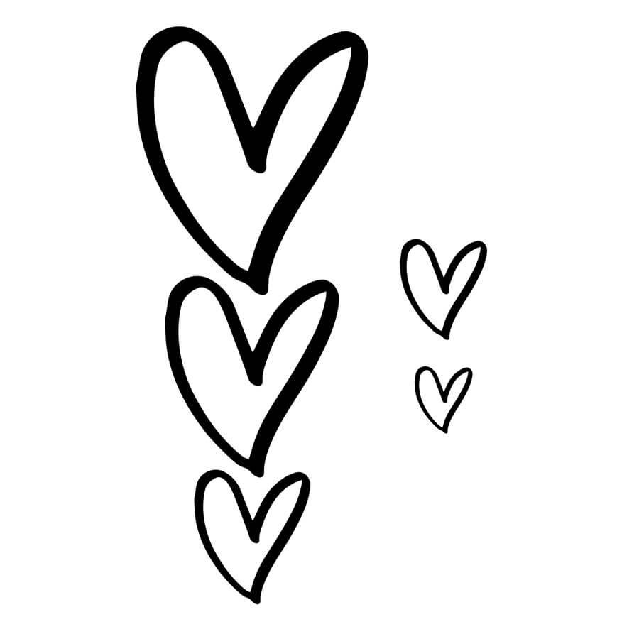 printable heart pictures free printable heart coloring pages for kids heart pictures printable