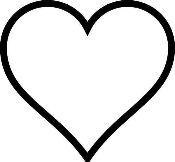 printable heart pictures free printable heart coloring pages for kids printable heart pictures 1 1