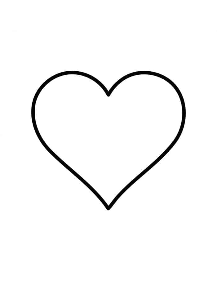 printable heart pictures free printable heart coloring pages for kids printable heart pictures 1 2