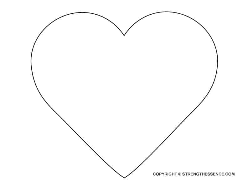 printable heart pictures free printable heart coloring pages for kids printable heart pictures 1 3