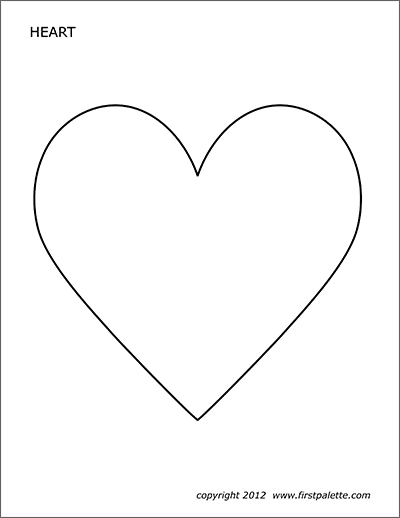 printable heart pictures free printable heart templates diy 100 ideas heart printable pictures 1 1