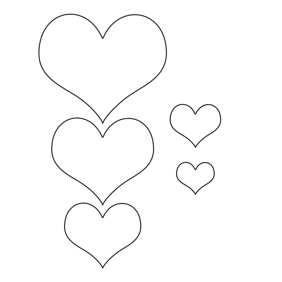 printable heart pictures get this hearts coloring pages for toddlers mhts9 pictures printable heart