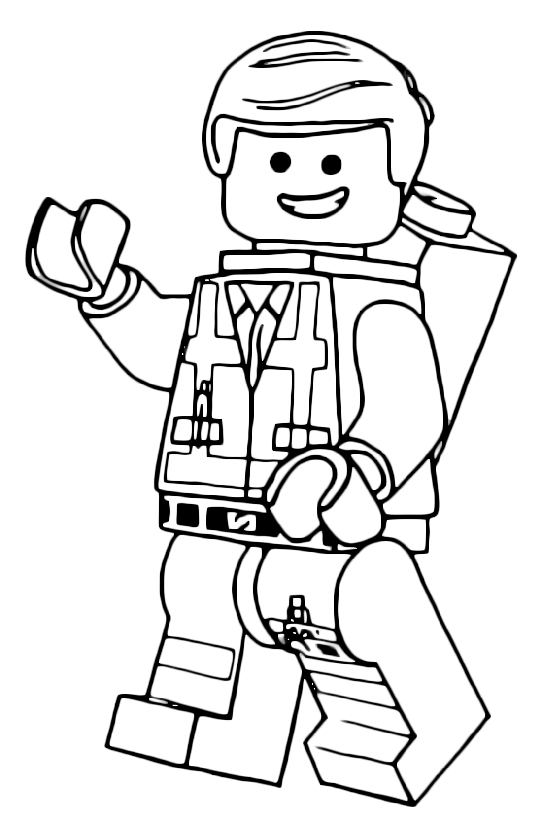 Printable lego movie 2 coloring pages